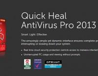Quick Heal Antivirus Pro 2013