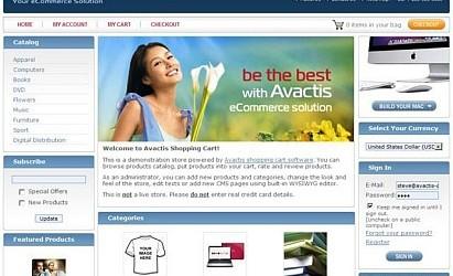Avactis Shopping Cart