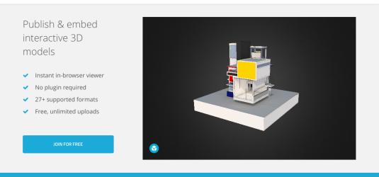 Sketchfab - browse free 3D models