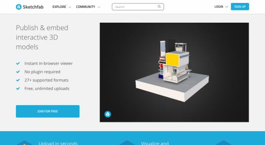 Sketchfab – browse free 3D models | ThatGiveawayBlog com