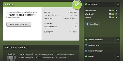 Webroot SecureAnywhere Antivirus 2014
