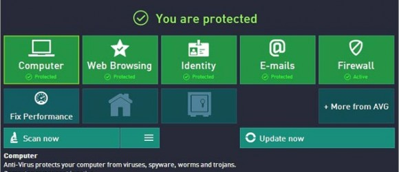 AVG Internet Security 2015 1 Year Trial